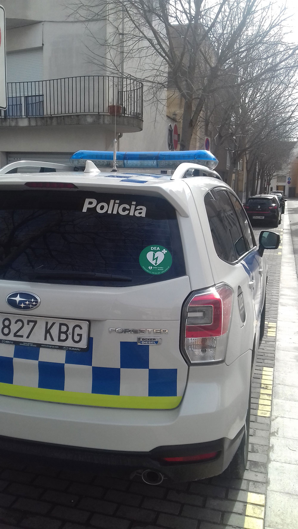 DEA - Vehicle policia local